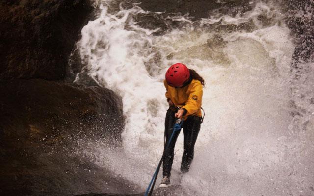Canyoning en Coya - Pisac