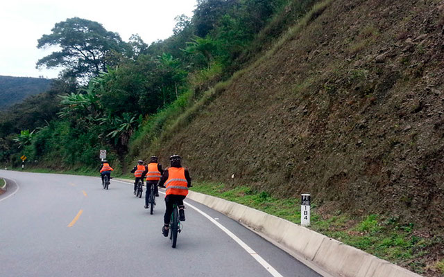 Inca jungle a machupicchu en bicicleta