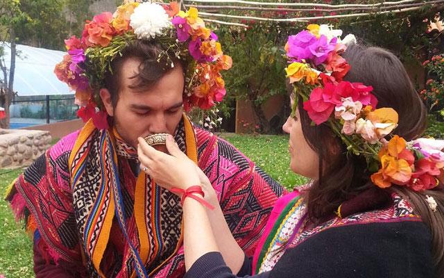 Matrimonio Inca Andino
