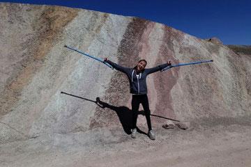 aventura montaña de colores