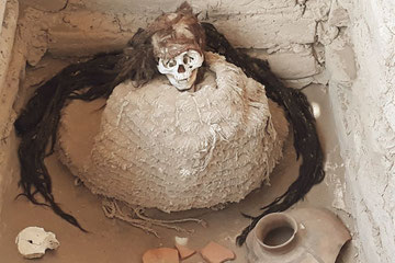 momia en Paracas