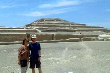 piramides de Cahuachi- NAZCA