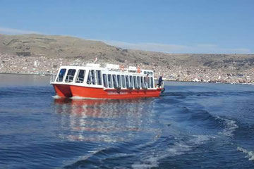tourist boat of titicaca lake- PUNO