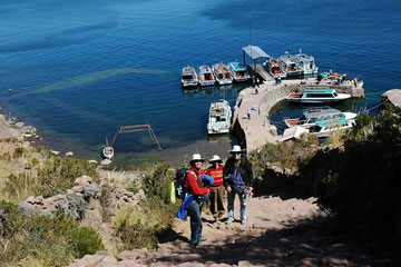 view of taquile island-PUNO