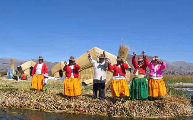 Islas uros, Taquile y Amantani