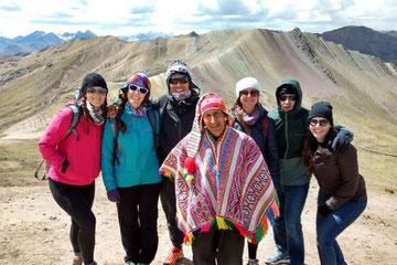 Montaña de colores y Ausangate