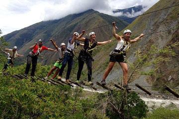 Zipline en Cusco