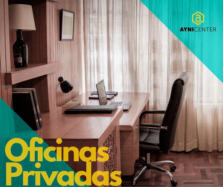 Nuestro servicio de oficinas privadas